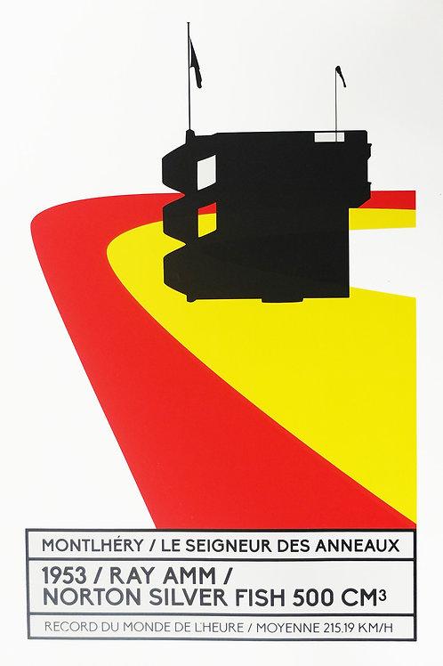 Affiche Montlhéry / Le seigneur des anneaux - N° 11
