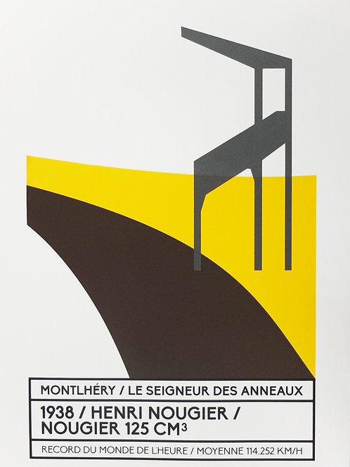 Affiche Montlhéry / Le seigneur des anneaux - N° 7