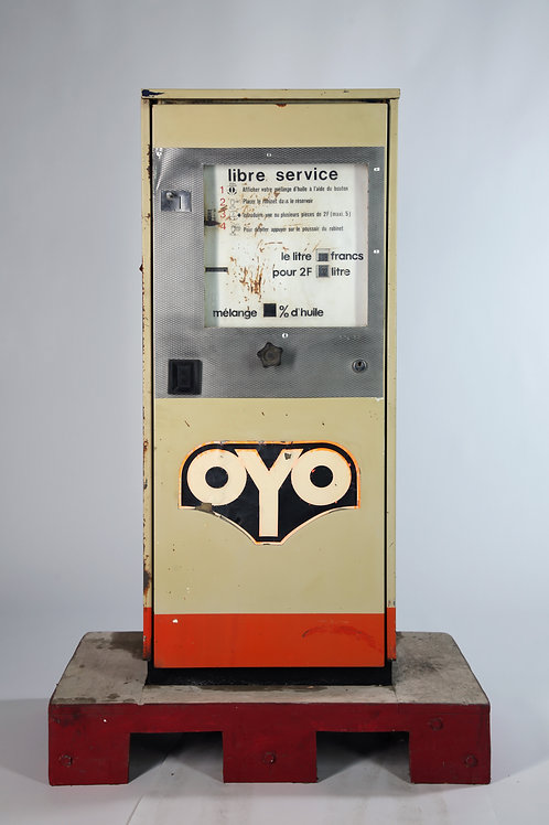 8- Pompe OYO mélange