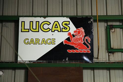 41 - Plaque émaillée LUCAS Garage