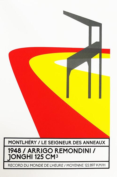 Affiche Montlhéry / Le seigneur des anneaux - N° 9