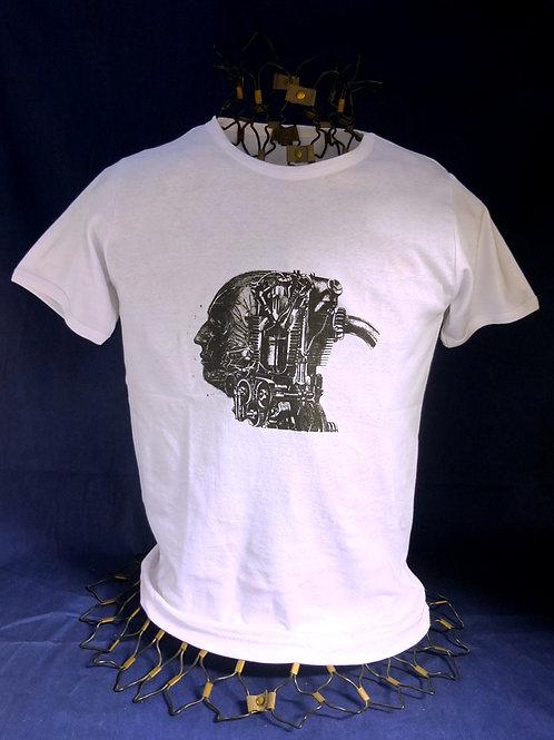 Tee-shirt tête/machine - Modèle homme