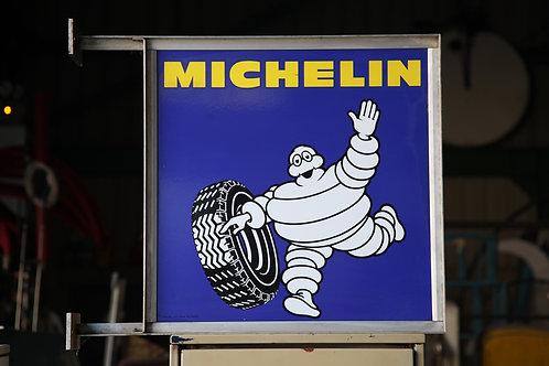 45 - Enseigne recto/verso MICHELIN