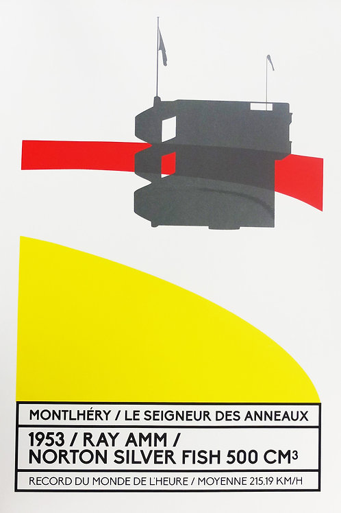 Affiche Montlhéry / Le seigneur des anneaux - N° 12