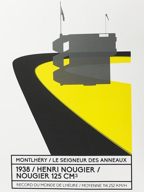 Affiche Montlhéry / Le seigneur des anneaux - N° 3