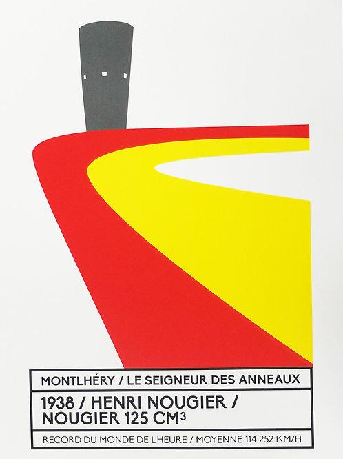 Affiche Montlhéry / Le seigneur des anneaux - N° 2