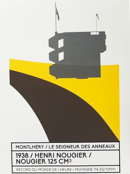 Affiche Montlhéry / Le seigneur des anneaux - N° 6
