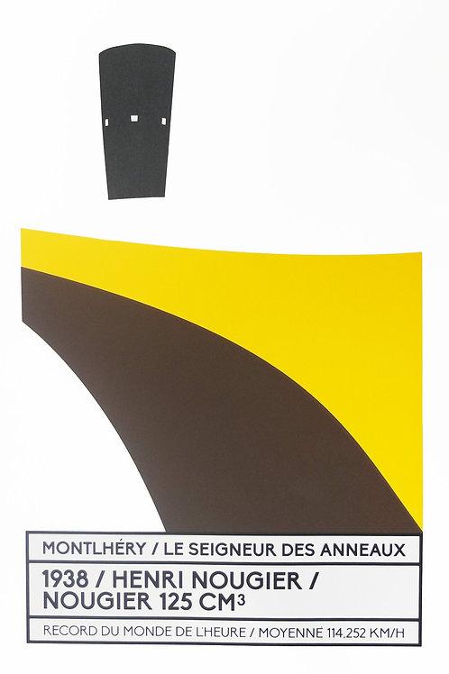 Affiche Montlhéry / Le seigneur des anneaux - N° 4