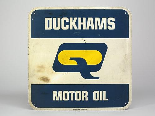 18 - Plaque émaillée DUCKAMS Motor Oil