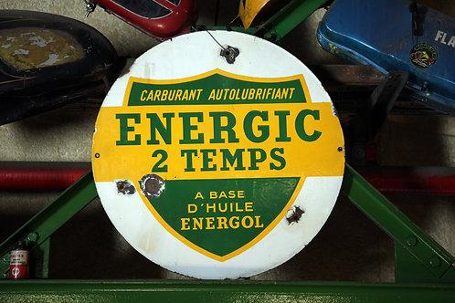 20 - Plaque émaillée ENERGIC 2 temps (1)