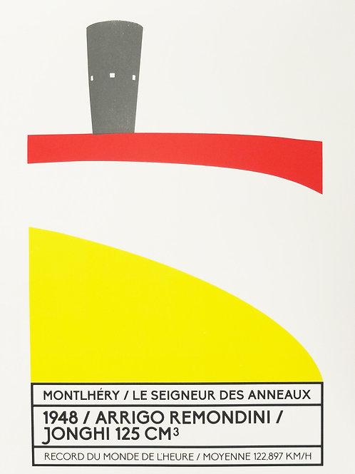 Affiche Montlhéry / Le seigneur des anneaux - N° 10