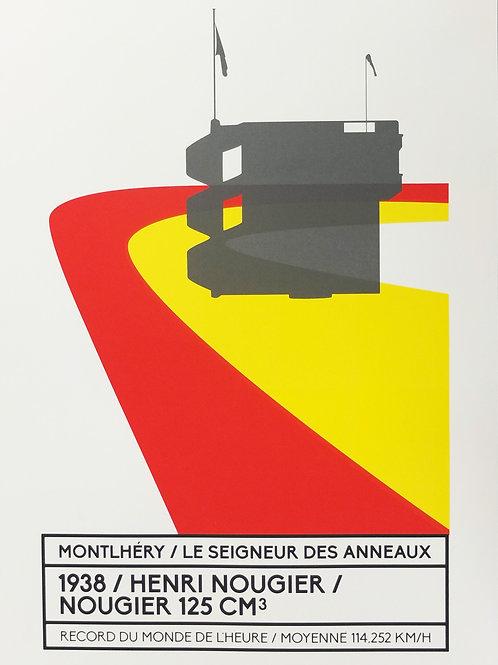 Affiche Montlhéry / Le seigneur des anneaux - N° 5