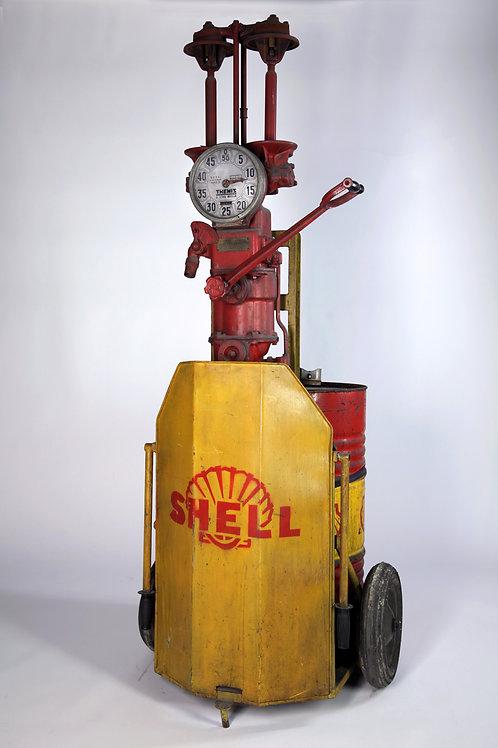 16- Pompe SHELL mélangeur manuel