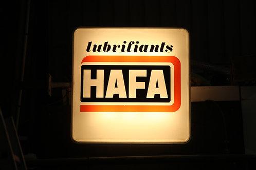32 - Enseigne lumineuse Lubrifiants HAFA