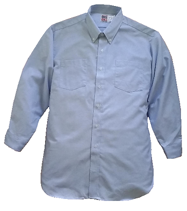 CHIC LONG SLEEVE SHIRT / CHEMISE CHIC À MANCHES LONGUES #2140 (Light blue)