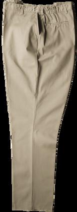 ELASTIC WAIST PANTS /PANTALON TAILLE ÉLASTIQUE #BB60 (Beige)