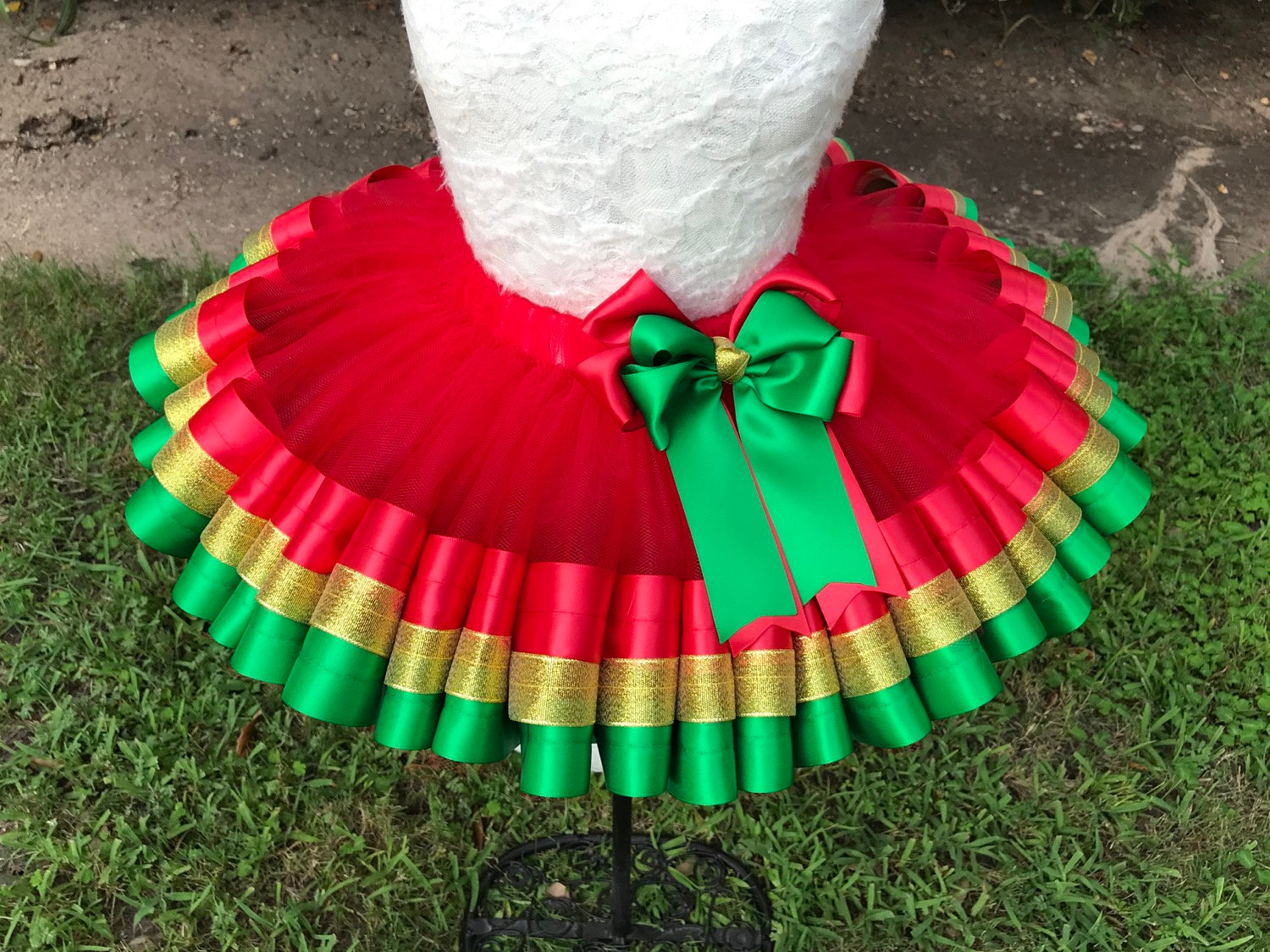 University Of Houston Sewn Ribbon Trimmed TuTu ~~~Optional Matching Over The Top Hair Bow Available~~Ready For FootBall Season~~~~