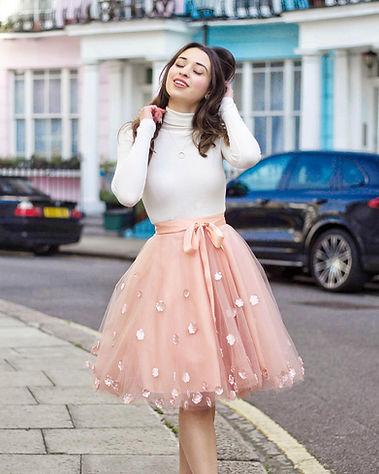 Hello miss Jordan pink tulle skirt