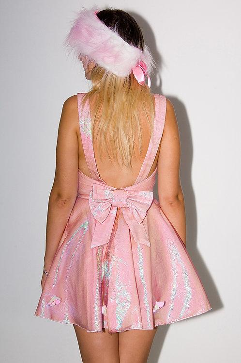 Pink Mermaid Bow Dress