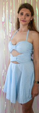 Ditsy print bow dress front.jpg