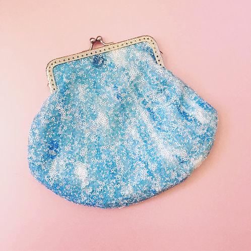 Sequin Shell Bag