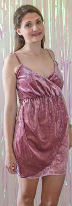 Rose gold velvet dress Front.jpg