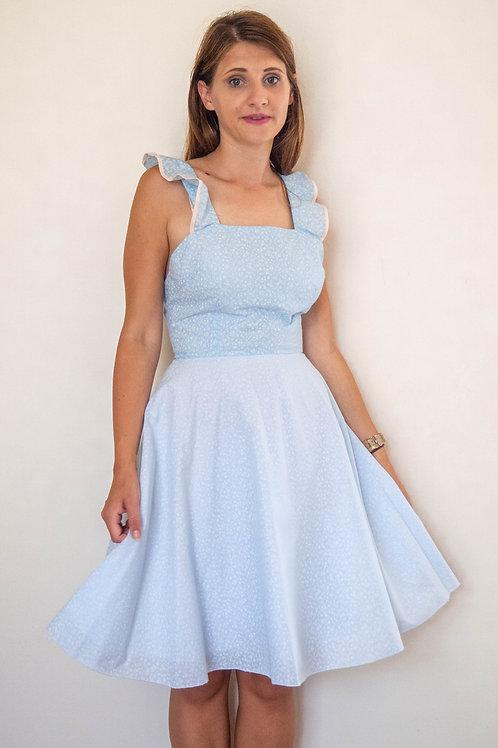 Victoria Frill Dress