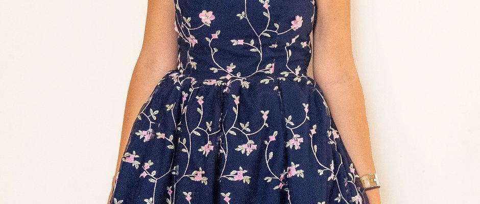 Aurora Embroidered Dress