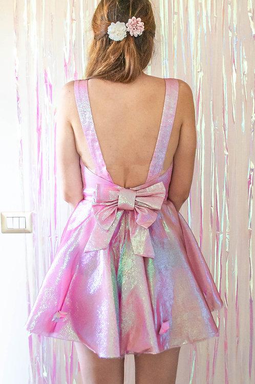 Pink Mermaid Bow Dress SS