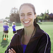 Female Soccer Coach