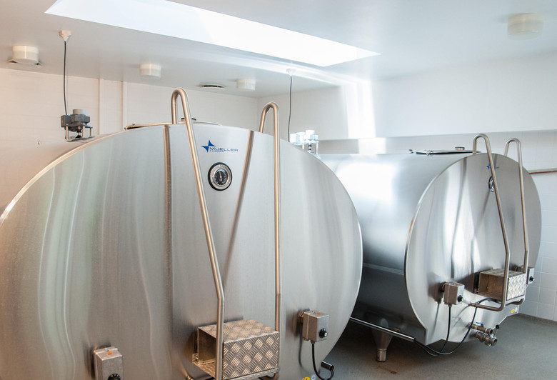 Fermentation on a large scale