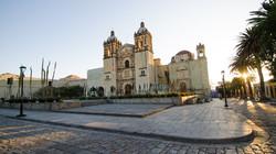 Explanada y templo de Santo Domingo