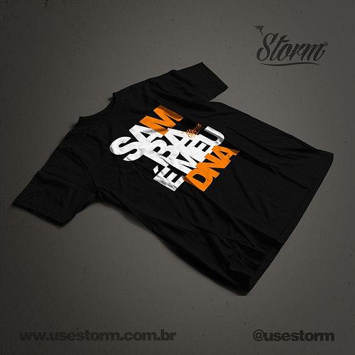 Camiseta Storm Samba é meu DNA