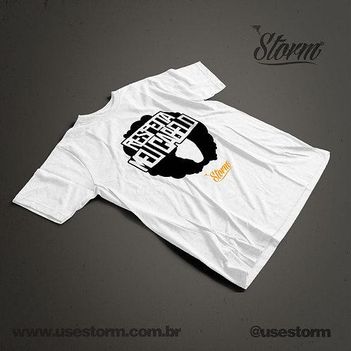 Camiseta Storm Respeita Meu Cabelo