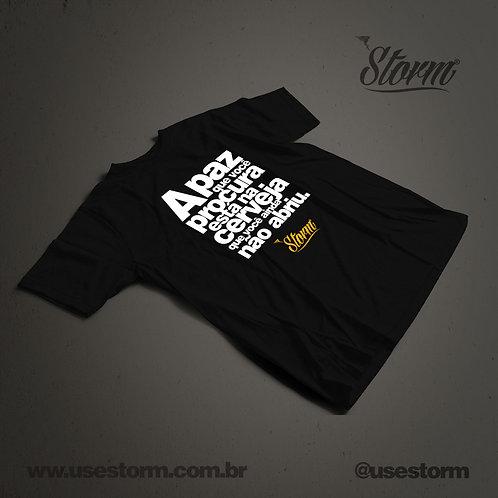 Camiseta Storm A Paz que você procura