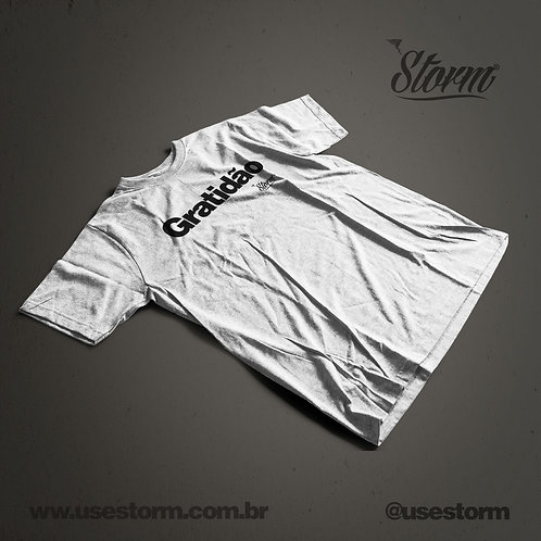 Camiseta Storm Gratidão
