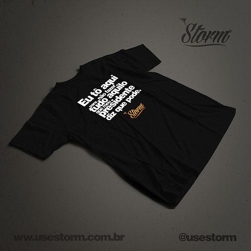 Camiseta Storm Tô Aqui