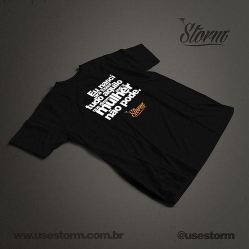 Camiseta Eu nasci