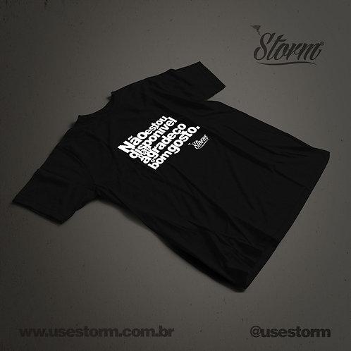 Camiseta Storm Não estou disponível