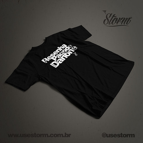 Camiseta Storm Resenha Pagode Danone
