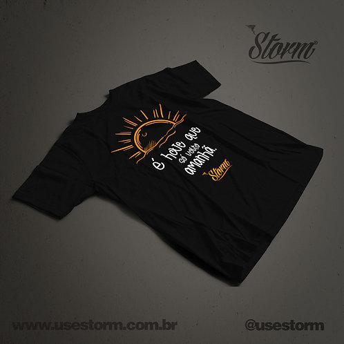 Camiseta Storm É hoje que só volto amanhã