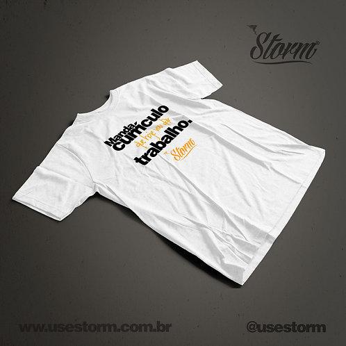 Camiseta Storm Manda Currículo