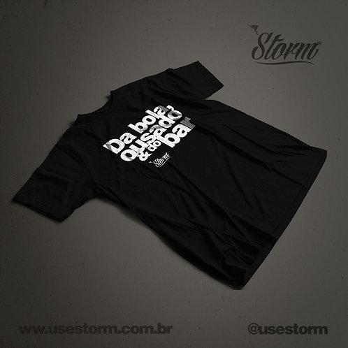 Camiseta Storm Da bola ousado e do bar
