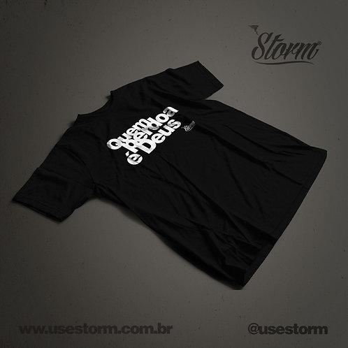 Camiseta Storm Quem perdoa é Deus