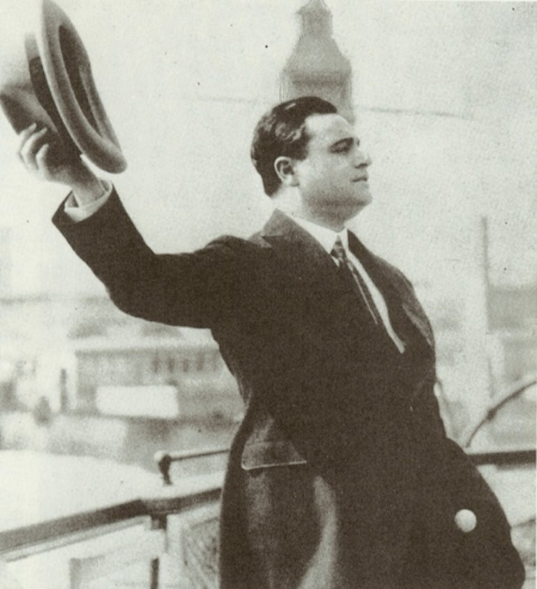 Beniamino Gigli, cantante Italiano famoso in tutto il mondo