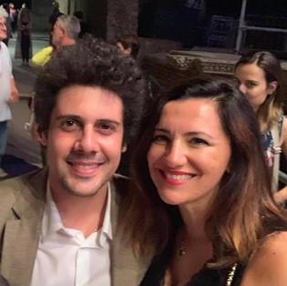con Gianmarco Carroccia a Ostia