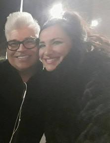 Con Greg Enriquez