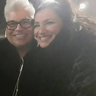 Con Greg Enriquez a Milano