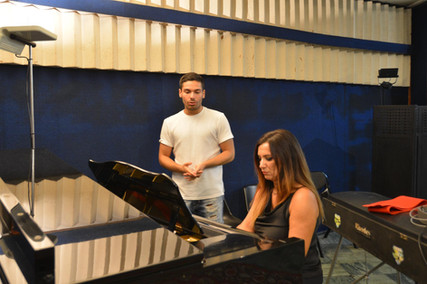 Assistenza in studio di registrazione