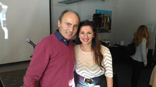 Con il prof Franco Fussi a Roma